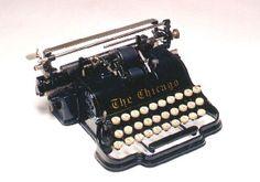 Antique Typewriter, Chicago 1898