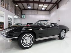 1963 CHEVROLET CORVETTE STING RAY FUEL-INJECTED CONVERTIBLE — Daniel Schmitt & Company