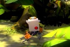 Disaster ensues as little robots explore a new planet.