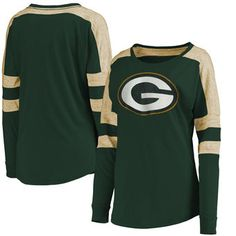 Green Bay Packers 5th  amp  Ocean by New Era Women s Athletic Space Dye  Long Sleeve adc4b523bbde