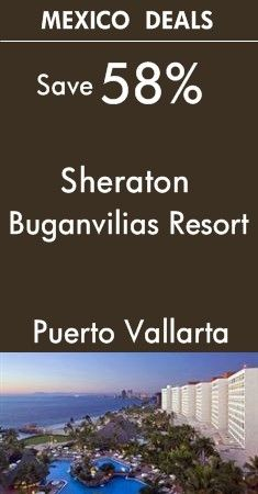 Puerto Vallarta - Mexico: Sheraton Buganvilias Resort & Convention Center | Puerto Vallarta beachfront resort bordering downtown's Malecón oceanside walkway | View All Hotel Deals up to 58% Off!