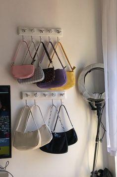 Room Design Bedroom, Room Ideas Bedroom, Bedroom Decor, Teen Bedroom, Bedrooms, Pastel Room, Indie Room, Aesthetic Room Decor, Aesthetic Bags