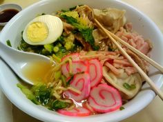 Saimin is the cure for everything! via 31 Food Things Only People From Hawaii Would Understand