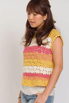 210-17 Striped French Sweater  por Pierrot http://www.ravelry.com/patterns/library/210-17-striped-french-sweater