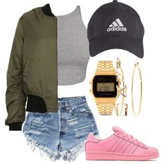 6/1/15 by queenc98 on Polyvore featuring Topshop, Ravel, adidas Originals, Casio, Brooks Brothers and Charlotte Russe