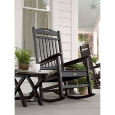 ... Furniture from Frontera - Polywood Trex Yacht Club Rocking Chair More