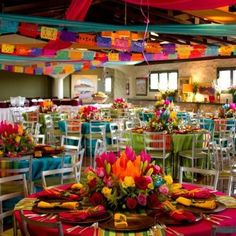 Mexican fiesta decor inspiration.