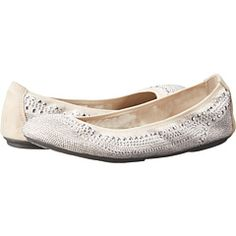 "Hush Puppies Chaste Ballet flats, color ""Silver Stud"" extra wide size 9WW(EE), also ""Black Stud"""