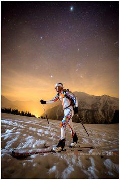 Sky & stars. Aprica, Valtellina, Italia