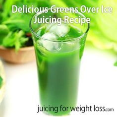 Looking for a delicious way to enjoy a healthy energizing green drink over ice? This recipe is for you!