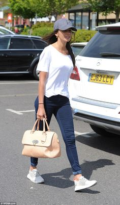 No heartbreak here! Michelle Keegan laughed in the face of break-up rumours as she stepped...