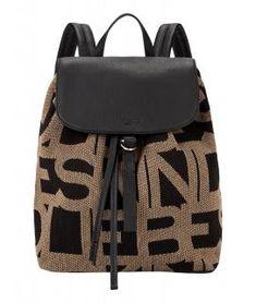 !!!Rucksack Liebeskind Backpack L Monogram Jacquard schwarz braun Fashion Backpack, Monogram, Backpacks, Bags, Sachets, Leather, Handbags, Monograms, Backpack