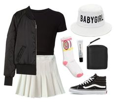 """BABY GIRL"" by baludna ❤ liked on Polyvore featuring Vans, Getting Back To Square One, H&M, Monki and Bobbi Brown Cosmetics"