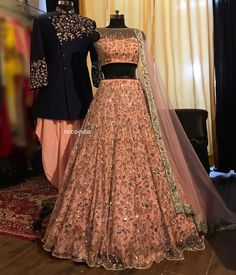 Looking for a budget lehenga store in Delhi? Check out the collection by Ricco India. Lehenga prices start from INR and they even do banarasi lehengas. Indian Wedding Gowns, Indian Bridal Outfits, Indian Bridal Lehenga, Indian Bridal Fashion, Red Lehenga, Lehenga Kurta, Heavy Lehenga, Indian Weddings, Royals