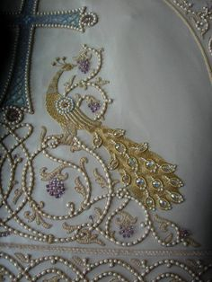 Goldwork and Bead Embroidery.