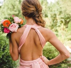 Her back!