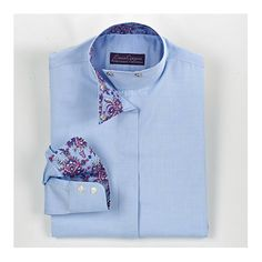 Essex Classics Ladies Chamberlain Wrap Collar Show Shirt
