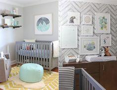 Ein neutrales babyzimmer gestalten   stillvoll