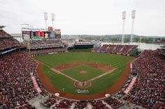 Great American Ball Park - Home to the Cincinnati Reds
