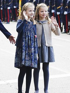 Twice the Princess Cuteness! Leonor and Sofia Charm at Royal Event in Madrid http://www.people.com/people/package/article/0,,20395222_20959403,00.html