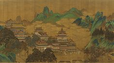 Peach Festival of the Queen Mother of the West, early 17th century, anonymous painter of the Ming dynasty - Wikipedia, the free encyclopedia