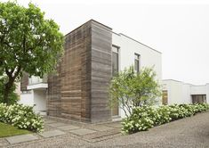 Villa, Garage Doors, Outdoor Decor, Home Decor, Modern Gardens, Landscape Diagram, Wonderland, Decoration Home, Room Decor