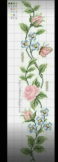 Thrilling Designing Your Own Cross Stitch Embroidery Patterns Ideas. Exhilarating Designing Your Own Cross Stitch Embroidery Patterns Ideas. Free Cross Stitch Charts, Cross Stitch Bookmarks, Cross Stitch Borders, Cross Stitch Designs, Cross Stitching, Cross Stitch Embroidery, Embroidery Patterns, Hand Embroidery, Cross Stitch Patterns