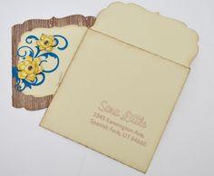 Addressing envelopes made easy using sketch pens