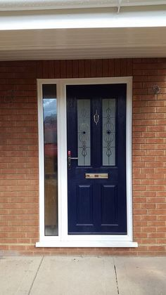 frosted composite Upvc front door - Google Search