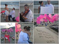 Romantic Beach Marriage Proposal