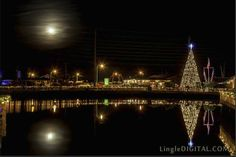 Christmas at Soundside Park in Surf City, NC.  Can't wait for our tree lighting this weekend!
