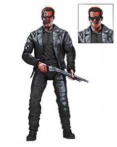 Terminator 2: T-800 (Video Game Appearance) Action Figure by NECA