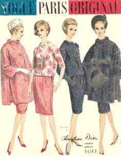 Vogue 1041 designed by Christion Dior