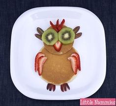 Owl Pancakes from Little Nummies and Creative and Easy First Day of School Snacks on Frgual Coupon Living. Breakfast Pancakes, Breakfast For Kids, Best Breakfast, School Breakfast, Pancake Dessert, Birthday Breakfast, Banana Pancakes, Cute Food, Good Food