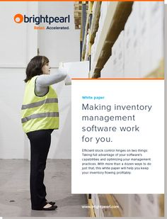 Making inventory management software work for you | Brightpearl