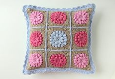 crochet cushion cover by creJJtion on Etsy, $65.00