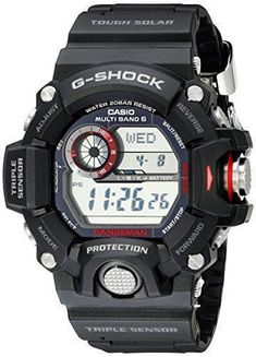 "For 25 years G-Shock G-Shock digital watches are the ultimate tough watch. Providing durable, waterproof mens digital watches for every activity. G-Shock is the ultimate tough watch. It was born from a developer's dream of ""creating a watch that never breaks."" Guided by a... more details available at https://perfect-gifts.bestselleroutlets.com/gifts-for-men/product-review-for-casio-mens-gw-9400-1cr-master-of-g-stainless-steel-solar-watch/ #menswatches"
