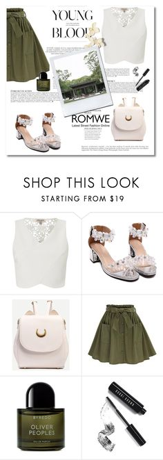 """Romwe 4"" by emina-turic ❤ liked on Polyvore featuring Lipsy, Byredo, Anja and Bobbi Brown Cosmetics"