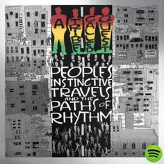 """Absolutely love how Pharrell remixed Bonita Applebum on A Tribe Called Quest's 25th Anniversary edition of their debut album """"People's Instinctive Travels and the Paths of Rhythm."""" Amazing reissue!"""
