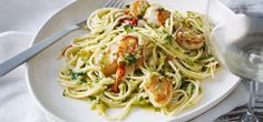 Recipe: Scallop & Zucchini Spaghettini. Make spaghettini in Philips pasta maker then follow recipe.