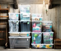 attic storage ideas - Google Search
