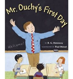 Teachers get first-day jitters too, as is revealed in this first-day-of-school story with a twist. First Day Jitters, First Day School, End Of School Year, Beginning Of School, The New School, School Days, School Life, School Stuff, Back To School Activities