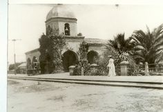 Train Station, 1895 — in San Juan Capistrano