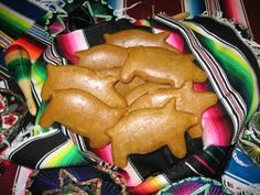 Marranitos Recipe (lard-free).  Ginger Pigs are one of the glorious treats of New Mexico and Mexico.