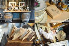 Hillary & Alex's Wedding details   Vista West Ranch » Jamie Huffman Photography ~ Making Over Martha vintage rentals ~ wine barrel bar