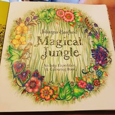 Title Page Magicaljungle Johannabasford Polychromos Prismacolors