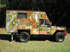 The Message Stick Vehicle Art Car