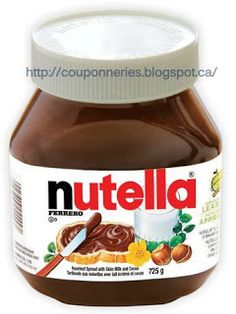 Coupons et Circulaires: 3,99$ NUTELLA 725g - gros pot