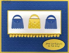 Cupcake Purses by Michelerey - Cards and Paper Crafts at Splitcoaststampers