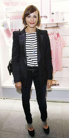 #Rashidajones Rashida Jones, I love her style.